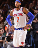 Jan 24, 2014, Charlotte Bobcats vs New York Knicks - Carmelo Anthony Photographic Print by David Dow