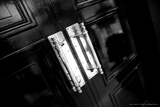 Doors at Quality Street Photographic Print by Leon Le Baron