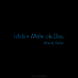 I Am More Than What You See! Ich Bin Mehr Als Das, Was Du Siehst. Photographic Print by  Cazeba