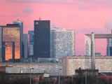 Soirée Défense Photographic Print by Laurent Grizon