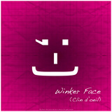 Winker Face Photographic Print by Leon Le Baron
