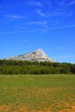 The Saint Victoire in Provence in France Photographic Print by Laetitia Julien