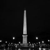 The Obelisk of Luxor Place Concorde Photographic Print by Leon Le Baron