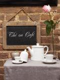 Tea or Coffee Fotografie-Druck von Leon Le Baron