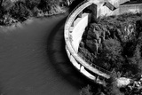 A Dam in the South of France Black and White Photographic Print by Laetitia Julien