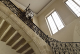 Old Wrought Iron Railing Stairs Photographic Print by Laetitia Julien