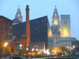 Urban Night - Liverpool Photographic Print by Laurent Grizon