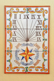 Colorful Sundial Photographic Print by Laetitia Julien