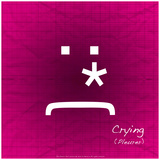 Crying (Pink) Photographic Print by Leon Le Baron