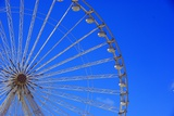 Big Wheel on Blue Sky Photographic Print by Laetitia Julien