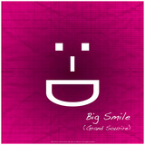 Big Smile (Pink) Photographic Print by Leon Le Baron