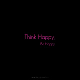 Think Happy, Be Happy. Photographic Print by  Cazeba