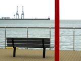 Le Banc - Zeebrugge Ostende Photographic Print by Laurent Grizon