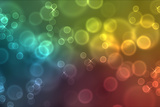 Colorful Bokeh Circles Photographic Print by Laetitia Julien
