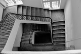 Former Spiral Staircase Black and White Photographic Print by Laetitia Julien