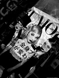 The Rumor Mag Display Black and White Photographic Print by  Cazeba