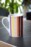 Placed on a Table Slate Colored Cup Photographic Print by Laetitia Julien