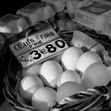 Fresh Eggs Photographic Print by Leon Le Baron
