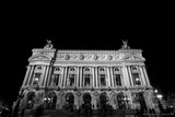 The Palais Garnier Opera House Front View Photographic Print by Leon Le Baron