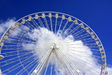 The Ferris Wheel Head in the Clouds Photographic Print by Laetitia Julien