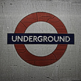 Underground Photographic Print by  Cazeba