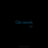 Don't Give Up! Gib Niemals Auf! Photographic Print by Leon Le Baron
