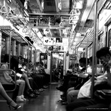 The Inside of Tokyo Metro Photographic Print by  Cazeba
