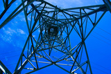 Electric Pylon Seen by Inside Photographic Print by Laetitia Julien