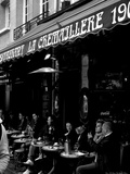 La Cremailliere Restaurant at Place Du Tertre Photographic Print by Leon Le Baron