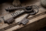 Old Keys Photographic Print by Leon Le Baron