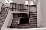 Former Spiral Staircase Trichromatic Photographic Print by Laetitia Julien