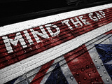 Mind the Gap U-Jack Photographic Print by Leon Le Baron