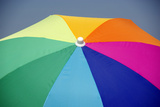 Colorful Parasol Opened in Heaven Photographic Print by Laetitia Julien