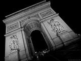 The Arc de Triomphe Photographic Print by  Cazeba