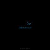 Be Confident! Sei Selbstbewusst! Photographic Print by Leon Le Baron