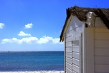 The Hut by the Sea Photographic Print by Laetitia Julien