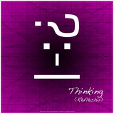 Thinking Photographic Print by Leon Le Baron
