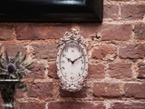 Old Fashion Clock on the Wall Photographic Print by  Cazeba