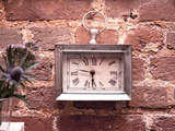 Old Clock on the Wall Photographic Print by Leon Le Baron