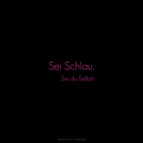 Be Bright, Be You! Sei Schlau, Sei Du Selbst. Photographic Print by Leon Le Baron