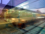 Trains Du Matin Photographic Print by Laurent Grizon