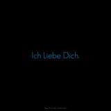 I Love You. Ich Liebe Dich. Photographic Print by Leon Le Baron