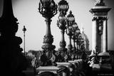 The Edge of the Bridge Alexandre Iii Photographic Print by  Cazeba