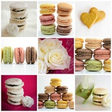Macarons Celebrating Photomontage Photographic Print by Laetitia Julien