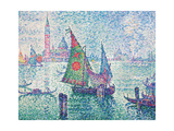 The Green Sail Giclee Print by Paul Signac