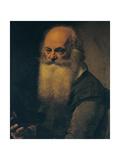 Portrait of Vincenzo Grassi Giclée-tryk af Bartolomeo Schedoni