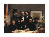 Table Corner (Coin De Table) Giclee Print by Henri Fantin-Latour