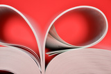 Curved Book Pages Photographic Print by Laetitia Julien