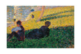 Study for a Sunday Afternoon on the Island of La Grande Jatte Giclee Print by Georges Seurat