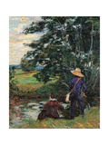 The Fishermen Giclee Print by Jean-Baptiste-Armand Guillaumin